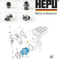 OE BMW E46 320i 323i 325i 328i 330i Water Pump 11517527910 HEPU GERMANY