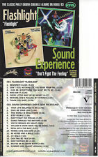 SOUL Flashlight s/t & Sound Experience Don´t fight the feeling CD 1978/74 2 LP