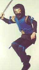Blue Imperial Ninja Child Costume - Size large ~ 12-14 YRs