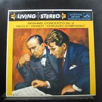 Gilels, Reiner, Brahms - Concerto No. 2 LP VG+ LSC 2219 Living Stereo RCA Record
