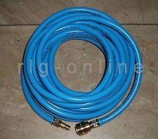 Flexibler DRUCKLUFTSCHLAUCH 10mm L:20m Weich-Kunststoff-blau