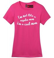 Regular Mom I'm Cool Mom Funny Ladies Soft T Shirt Movie Mothers Day Gift Tee Z4