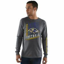 Baltimore Ravens NFL Hands High Men's Gray T-Shirt 2XL Sports Mem, Cards & Fan Shop