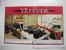 FORD V8 FEVER EB SPECIAL VEHICLES GTHO PROJECT 5 PAGE MAGAZINE PREVIEW ARTICLE