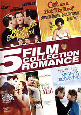 5 Film Collection: Romance DVD, 2015, 5-Disc Set NEW - Cut groov out on bar code