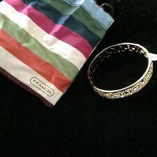 New Coach Gold Rhinestone Bracelet