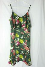 Womens Banana Republic Floral Spaghetti Strap Dress Size 10 EUC