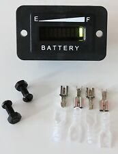 PRO12-48R Golf Cart Battery Indicator EZGO Yamaha Club Car 12, 24, 48 VDC