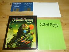 Blood Money (inc. Poster) - ATARI ST (Tested)