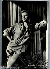 CLAUDIA CARDINALE Attrice PC VAMP Film Star Cinecittà PIN UP Sexy Real Photo