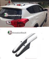 barre longitudinali di colore argento Toyota Rav 4  PER MODELLI DAL 2013 AL 2018
