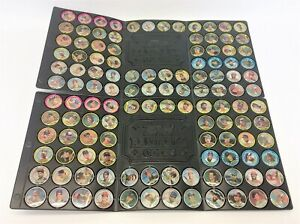 Two Complete Sets 1990 Topps Baseball Coins Milk Caps Griffey Ryan Sandberg