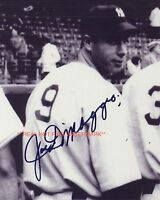 ** JOE DIMAGGIO ** New York Yankees Autographed 8x10 Photo (RP)