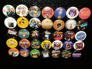 35 Bee Gees Magnet 1 inch Fridge Magnets Albums LP Vinyl Mini Discography