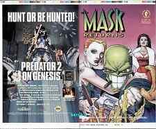 1992 THE MASK RETURNS #2 ORIGINAL COVER PROOF PRODUCTION ART DARK HORSE COMICS