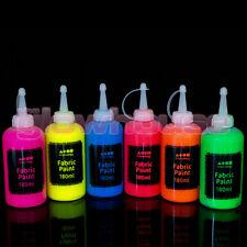 Fabric Paint 180ml Neon Fluorescent