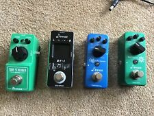 ibanez tube screamer mini and other pedals