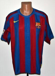BARCELONA 2005/2006 HOME FOOTBALL SHIRT JERSEY NIKE SIZE L ADULT