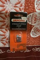 Janome Straight Stitch Foot  #200331009 For Horizontal Rotary Hook Models