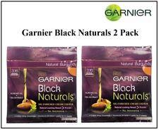 2 Pack Of Garnier Black Naturals Natural Burgundy Oil-Enriched Cream Hair Color