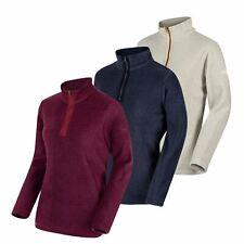 Regatta Womens Embraced II Fleece Top Zip Sweater Jumper Pullover