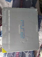 Pack Console Boite PS2 Playstation 2 Satin Silver Prestige Line