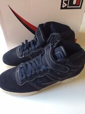 FILA Size 11 Trainers High Tops Shoes RRP £60 Style F13 Navy