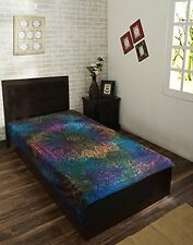 Indian Tie Dye Tapestry Hippie Ethnic Decor Dorm Throw Boho Sheet Bedspread Star