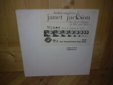 "LUTHER VANDROSS JANET JACKSON the best things in life are free  12"" MAXI 45T"