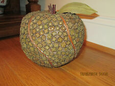 Green apple dried wood decor