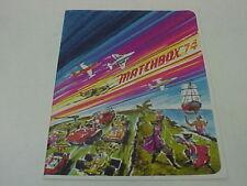 1974 MATCHBOX LESNEY SUPERFAST MAC GIFT DEALER CATALOG