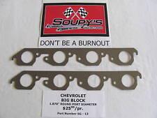 Chevrolet Big Block Exhaust Gaskets (1.870 Round Port)