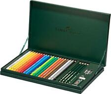 Faber-Castell Mixed Media Polychromos & Castell 9000 Sketching Pencil Set