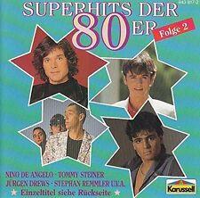 Superhits der 80er 2 (Karussell) Mike Krüger, Trio, Nino de Angelo, Steph.. [CD]