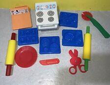 Play-Doh Cookie Makin Station Trays Lot Oreo Teddy Grahams Animal Crackers