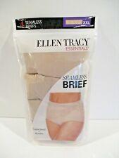 Ellen Tracy Essentials seamless brief panties size XXL/9 4 pack style 514550P4