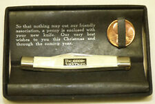 Vtg 1964 Imperial Super Razor Blade Pocket Knife Advertising Andersons Toledo OH