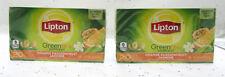 Lipton Green Tea ~ 1.6oz ~ Orange Passionfruit Jasmine ~ 20 bags ~ Lot of 2