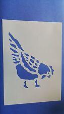Schablonen 327 Hahn Tattoo Stencil Wandbilder Airbrush Wanddekoration Mylarfolie
