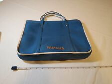 Yamaha VINTAGE blue bag laptop travel manual 1970's advertising history case