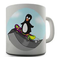 Skateboard Guin Funny Novelty Design Gift Tea Coffee Office Ceramic Mug