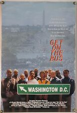GET ON THE BUS DS ROLLED ORIG 1SH MOVIE POSTER SPIKE LEE OSSIE DAVIS DOCU (1996)