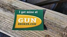 Gun Broker Stickers Decal / Rifle Gun Pistol Shooting Airsoft Hunting Magpul