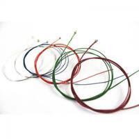 bronze. arc - en - ciel coloré des cordes de guitare acoustique musique stable