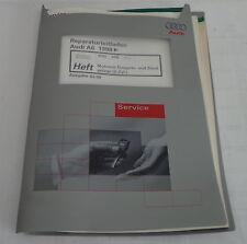 Manuale Officina Audi A6 C5 Motronic Sistema Di Iniezione Sistema Di Accensione