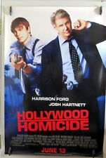 "Hollywood Homicide - 27""x40"" 2 Sided ORIGINAL Movie Poster - Harrison Ford"