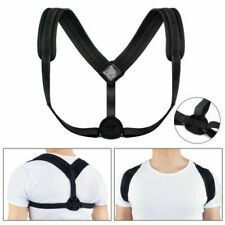 Generic Posture Corrector with Adjustable Clavicle Support - Black