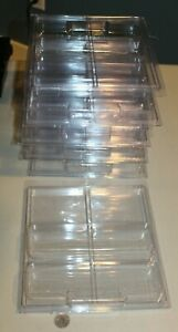 9 Hot Wheels Clamshell Protective Cases holds 4 carded diecast 1:64 cars 28 NEW