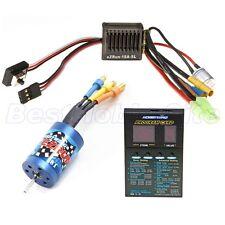 HobbyWing 1/18 RC Car EZRUN 18A ESC 18T 5200KV Motor Brushless Combo A2 1:18