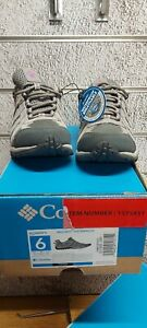 Ladies Columbia Trainers Redcrest Waterproof Walking Shoes Size UK 4  Brand New